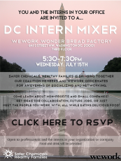 Safer Chemicals Healthy Families Intern Mixer