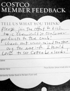 Costco member feedback
